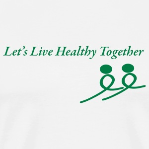 Healthy Together - Men's Premium T-Shirt