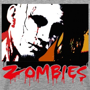 Happy Halloween Zombies Men - Men's Premium T-Shirt