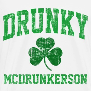 Drunky McDrunkerson T-Shirts - Men's Premium T-Shirt