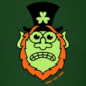 St Paddy's Day Stressed Leprechaun  T-Shirts - Men's T-Shirt