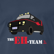 Design ~ The Eh Team Men's Navy T-Shirt