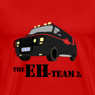 Design ~ The Eh Team Men's Red T-Shirt