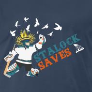 Design ~ Stalock Saves Men's Navy T-Shirt