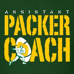 Packer Coach green - Men's T-Shirt