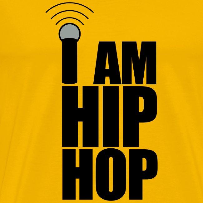 WORLD STAR BATTLE GRIND - I AM HIP HOP MENS HEAVYWEIGHT T-SHIRT | Men's  Premium T-Shirt