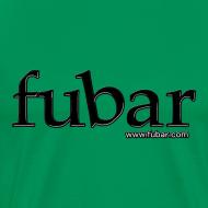 Design ~ Men's Green T - fubar Recycle