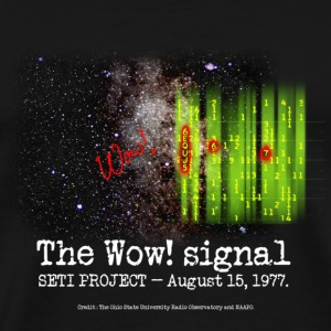 SETI The WOW! Signal - Men's Premium T-Shirt