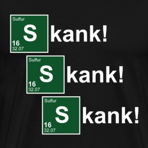 Black Skank! Breaking Bad T-Shirts - Men's Premium T-Shirt