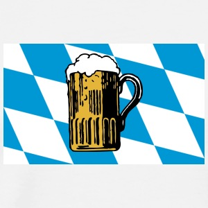Bavarian Flag Oktoberfest - Men's Premium T-Shirt