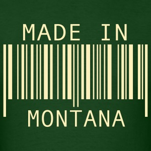 Forest green Made in Montana T-Shirts - Men's T-Shirt