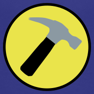 Design ~ CAPTAIN HAMMER Kids T-Shirt - New Metallic Hammer