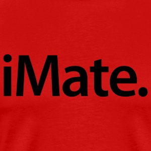 iMate Dark on Heavyweight Shirt - Men's Premium T-Shirt