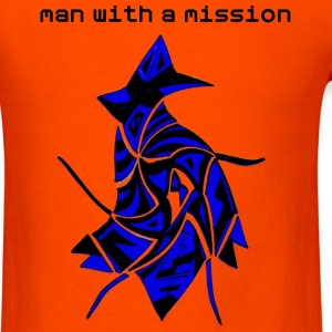 man with a mission - Men's T-Shirt