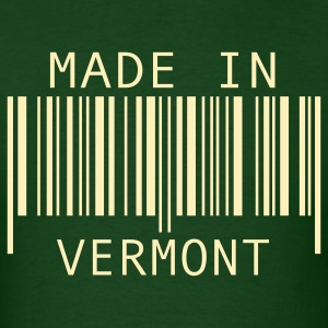 Forest green Made in Vermont T-Shirts - Men's T-Shirt