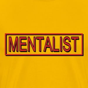 Yellow mentalist T-Shirts - Men's Premium T-Shirt