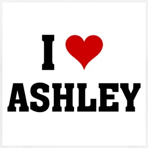 I love ashley - Men's Premium T-Shirt