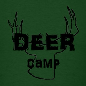 Forest green deercamp T-Shirts - Men's T-Shirt