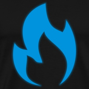 Blue flame - Men's Premium T-Shirt