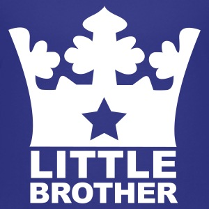 Royal blue I am the Little Brother Kids' Shirts - Kids' Premium T-Shirt