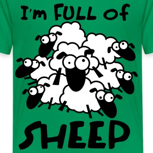 Full of Sheep Animal Shirt Kids' Shirts - Kids' Premium T-Shirt