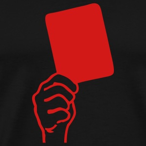 Black Red Card Sport T-Shirts - Men's Premium T-Shirt