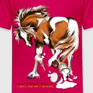 Paint Horse Fanatic - Kids' Premium T-Shirt