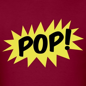 pop! on a star comic T-Shirts - Men's T-Shirt