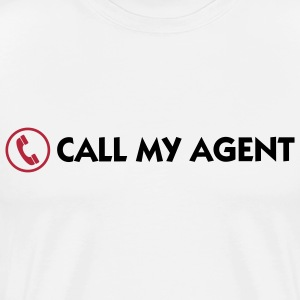 Call My Agent 1 (2c) T-Shirts - Men's Premium T-Shirt