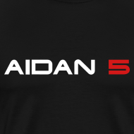 Design ~ Aidan 5 Men's T-Shirt - Logo