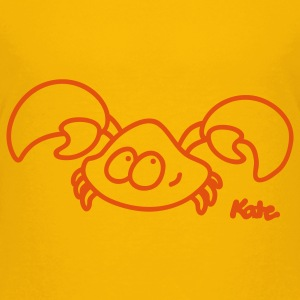 Yellow Crab Kids' Shirts - Kids' Premium T-Shirt