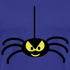 Royal blue spider T-Shirts - Men's Premium T-Shirt