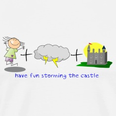 Have fun storming the castle!