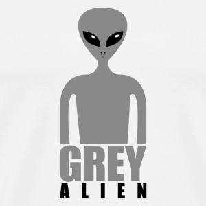 Grey Alien - Men's Premium T-Shirt