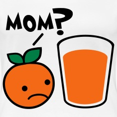 Orange Juice Mom Plus Size