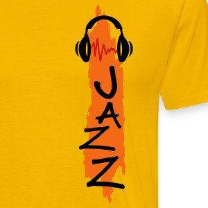 Gold jazz T-Shirts - Men's Premium T-Shirt