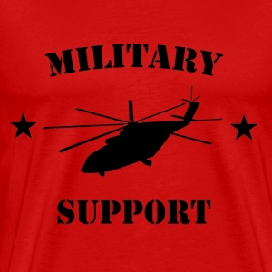 I support the military - Men's Premium T-Shirt