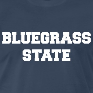 Navy kentucky bluegrass state T-Shirts - Men's Premium T-Shirt