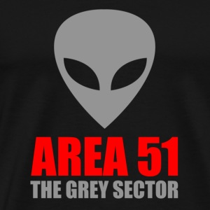 Area 51 Grey Alien - Men's Premium T-Shirt