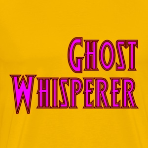 Yellow Ghost Whisperer T-Shirts - Men's Premium T-Shirt