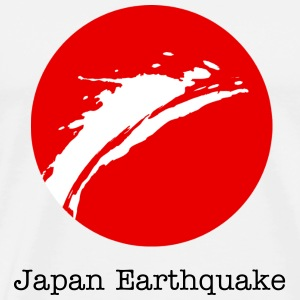 Japan Earthquake - Men's Premium T-Shirt
