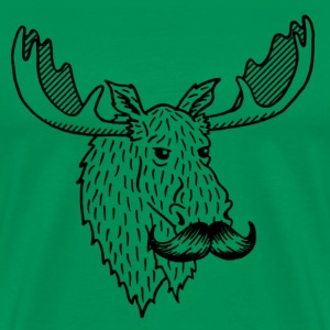 Moostache T-shirt - Men's Premium T-Shirt