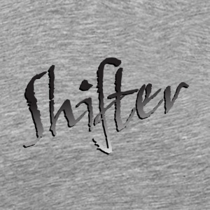 Heather grey Shifter T-Shirts - Men's Premium T-Shirt