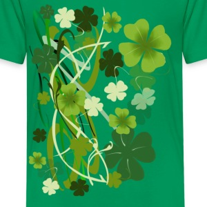 Designer Shamrocks - Kids' Premium T-Shirt