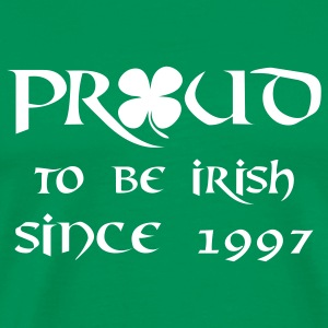 proud to be irish since 1997 T-Shirts - Men's Premium T-Shirt