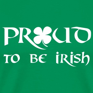 proud to be irish  T-Shirts - Men's Premium T-Shirt