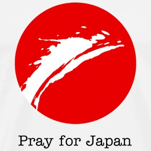 Pray for Japan - Men's Premium T-Shirt