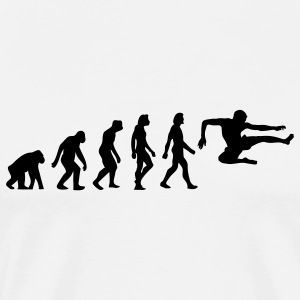 Evolution Karate (1c) T-Shirts - Men's Premium T-Shirt