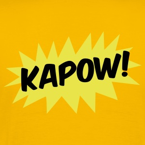 kapow! on a star fight whack fist T-Shirts - Men's Premium T-Shirt