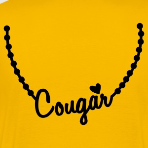 cougar necklace T-Shirts - Men's Premium T-Shirt