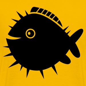 spikey blowfish T-Shirts - Men's Premium T-Shirt
